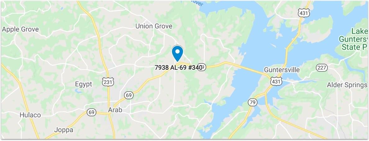 masdon ent locations map
